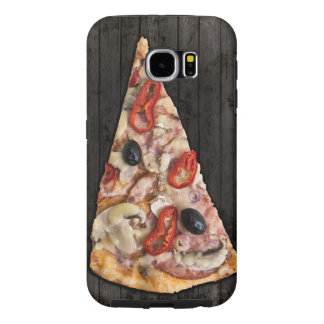 De Plak van de pizza Samsung Galaxy S6 Hoesje