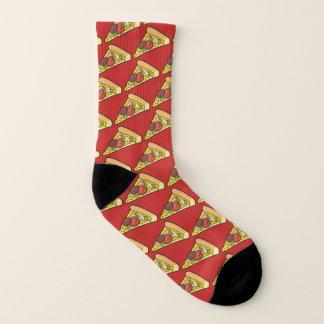 De Plak van de pizza Sokken