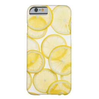 De plakken van de citroen in backlit die patroon barely there iPhone 6 hoesje