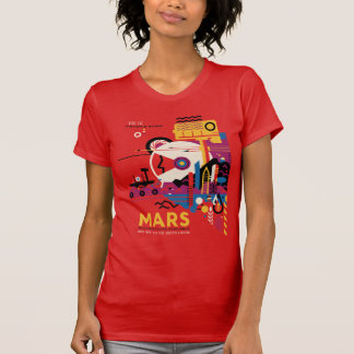 De planeet Mars - Historische Plaatsen T Shirt