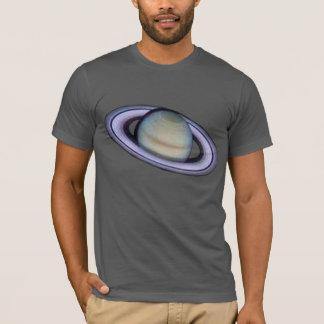 De Planeet Saturn van het mannen T Shirt