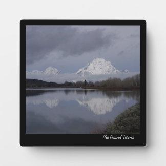 De Plaque van Grand Teton Fotoplaat