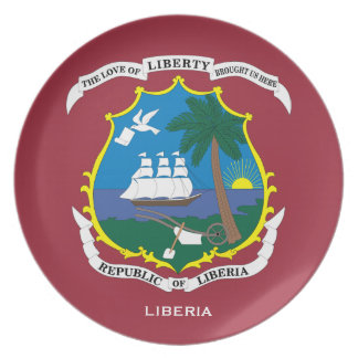 De plaque van het Bord/van Liberia van de Muur van Bord