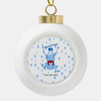 De plastic Vechtsporten van de Fles van het Water Keramische Bal Ornament