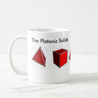 De platonische Vaste lichamen Koffiemok