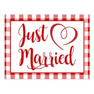 De plattelander huwde enkel het Rode Huwelijk van Briefkaart