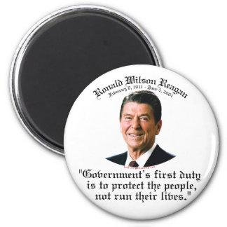 De Plicht van de Overheid van Reagan Magneten