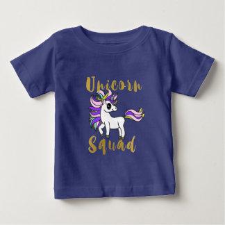 De Ploeg van de eenhoorn, Kleurrijk Pony Baby T Shirts