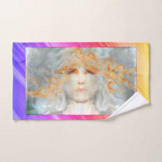 De plons van Kleur maakt omhoog de Fantasie van de Bad Handdoek