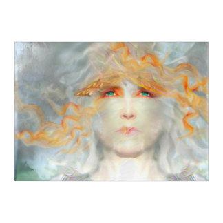 De plons van Kleur maakt omhoog tot Fantasie het Acryl Muurkunst