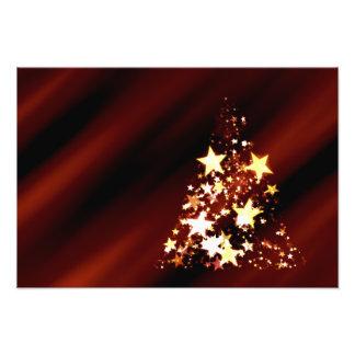 De Poinsettia van de Kerstboom van Kerstmis van de Footprint