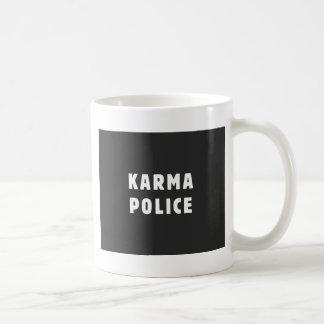 De politie van Karma Koffiemok