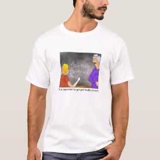 De politiek Correcte T-shirt van de Cartoon