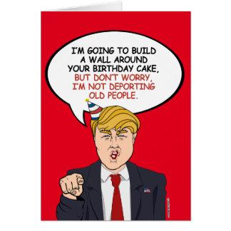 De politieke Groet van de Verjaardag Briefkaarten 0