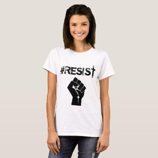 """De Politieke Knoop van de """"anti-Troef"""" van #Resist T Shirt"""
