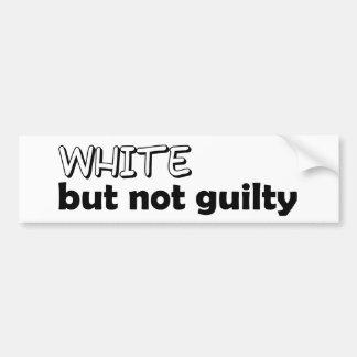 De politieke Sticker van de Bumper Bumpersticker