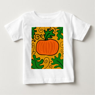 De pompoen van de Thanksgiving Baby T Shirts