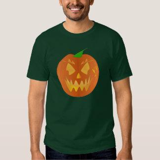 De Pompoen van Halloween in Forest Green Shirts