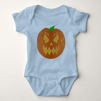 De Pompoen van Halloween in Lichtblauw T Shirts