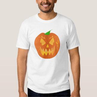 De Pompoen van Halloween in Linnen Tshirt