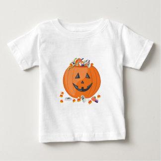 De Pompoen van het snoep Baby T Shirts