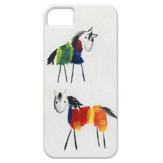 De Poneys van weinig Regenboog Barely There iPhone 5 Hoesje