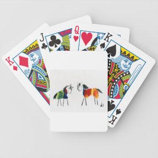 De Poneys van weinig Regenboog Bicycle Speelkaarten