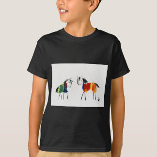 De Poneys van weinig Regenboog T Shirt