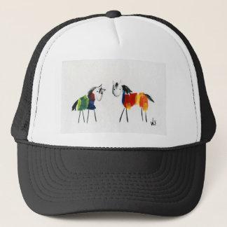 De Poneys van weinig Regenboog Trucker Pet