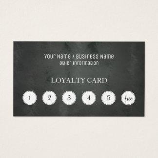 De Ponskaart van de Loyaliteit van de Klant van Visitekaartjes