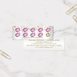 De Ponskaart van de loyaliteit - zo schittert het Mini Visitekaartjes