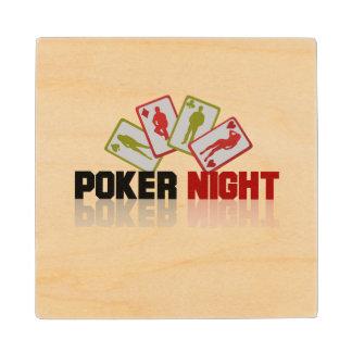 De Pook van het casino Houten Onderzetter