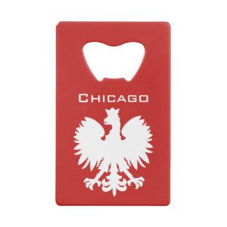 De Poolse Eagle Flesopener van Chicago Creditkaart Flessenopener