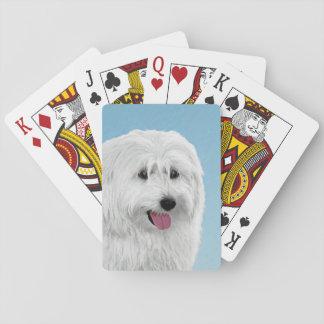 De Poolse Herdershond van het Laagland Pokerkaarten