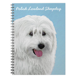 De Poolse Herdershond van het Laagland Ringband Notitieboek