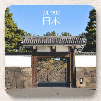 De poort van de tempel in Tokyo, Japan Drankjes Onderzetter