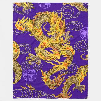 De populairste Koninklijke Chinese Fantasie van de Fleece Deken
