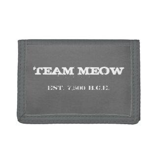 De Portefeuille van de Miauw van het team