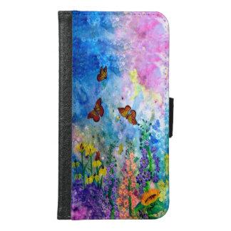 De Portefeuille van de Telefoon van de Cel van de Samsung Galaxy S6 Portemonnee Hoesje