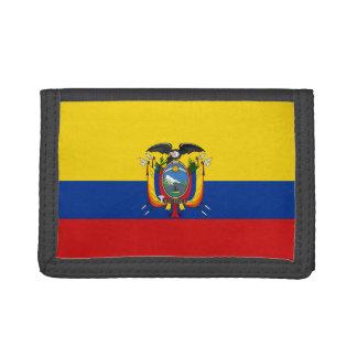 De Portefeuille van de Vlag van Ecuador