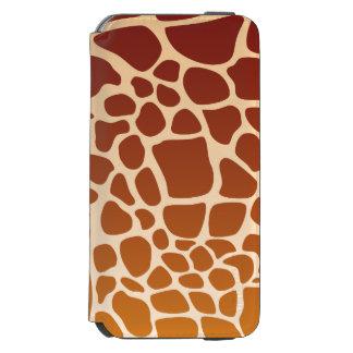 De Portefeuille van giraffen