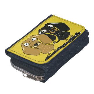 De portefeuille van het het paardenim van de tekke portemonnee