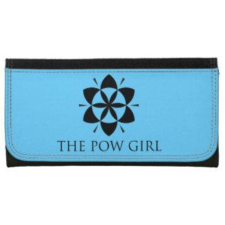 De portefeuille van het Meisje Pow