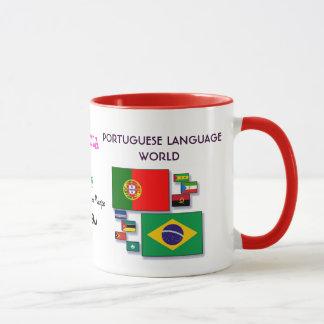 De Portugese Mok van de Wereld van de Taal