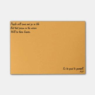 De positieve Nota's van de Post-it Post-it® Notes