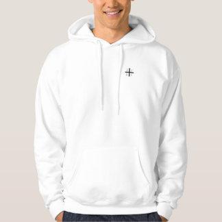 De positieve ZWARTE van Hoodie //van het Logo Vibe