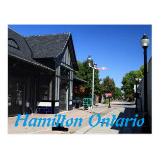De Post Hamilton Ontario van Ferguson Briefkaart
