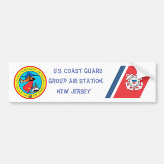 De Post New Jersey van de Lucht van de Groep USCG Bumpersticker