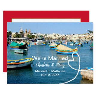De post Partij van de Ontvangst van het Huwelijk Kaart