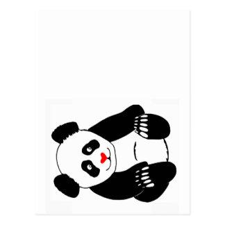 De Post van de panda Briefkaart